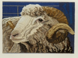 Wool Tapestry by Linda Whiting