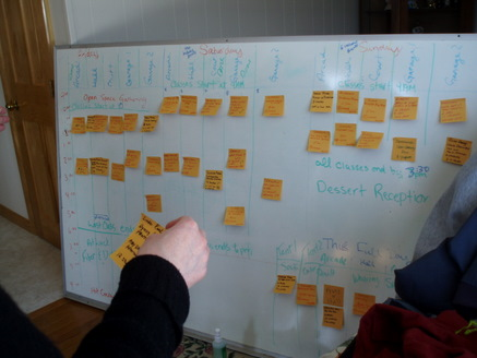 What did people do before post-it notes?