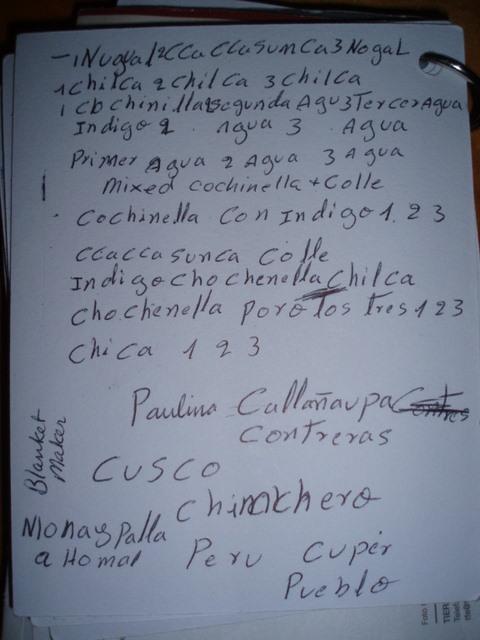 Paulina's notes