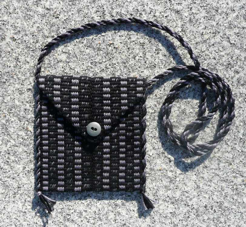 Inkle Woven Purse by D.K. Forde