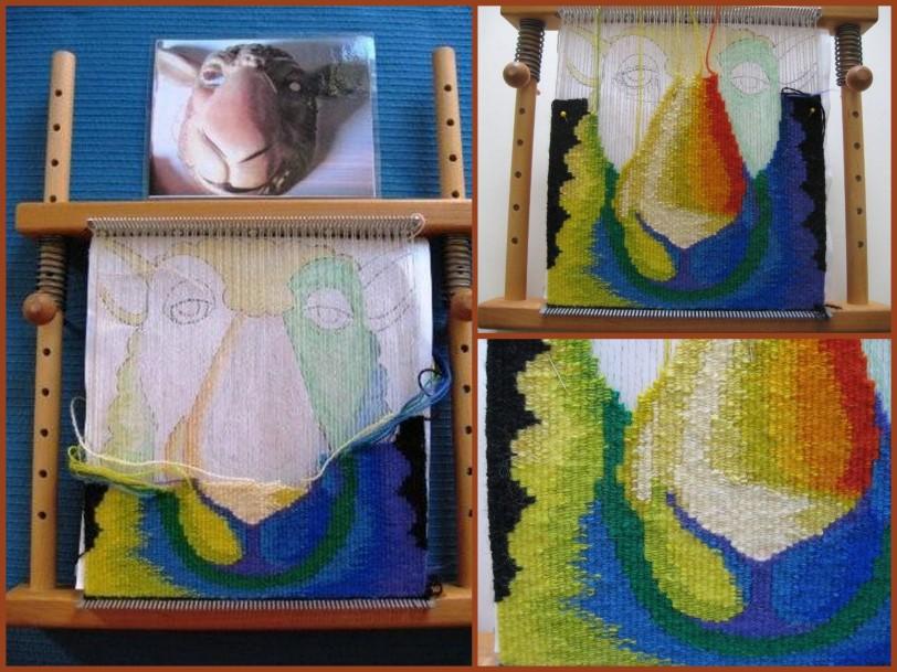 Tapestry in Progress
