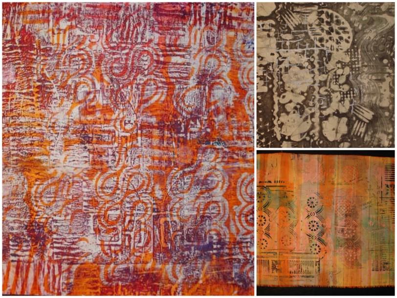 Surface design using wax batik