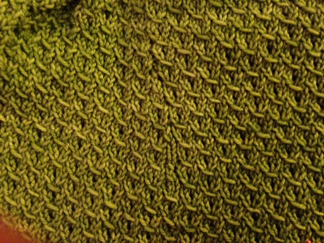 How often do we forget about texture in knitting?