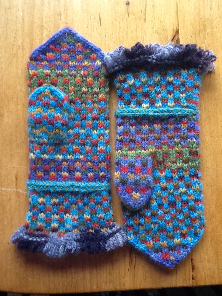 Adult size Winona Mittens