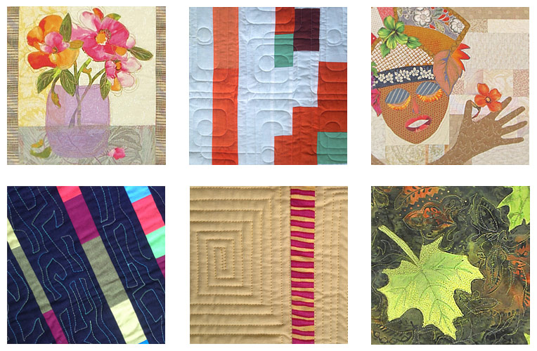 Bonnie will also present a trunk show and talk on The Roots of Modern Quilting in our demo tent on Saturday afternoon.