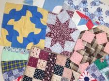 Sample quilt squares