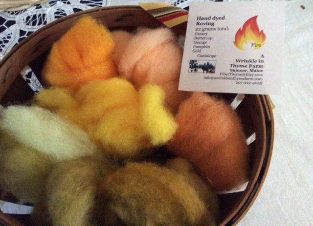 An integral part of Marty's needlefelting is dyeing wool in just the right colors.
