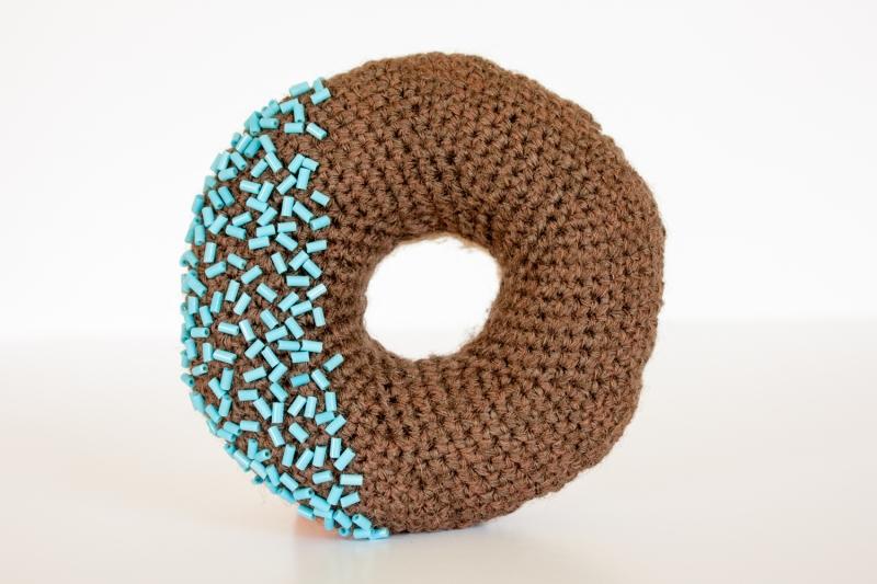 Holly McBride_crocheted donut