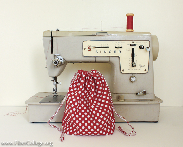 Holly will teach Sewing Machine 101 on Friday morning. Dust off your machine or borrow one from a friend!