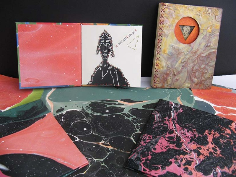 Cynthia's Saturday students will create beautiful books for a wide variety of purposes.