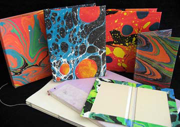 Cynthia's class Hardcover Bookbinding will be offered on Saturday from 9 - 1.