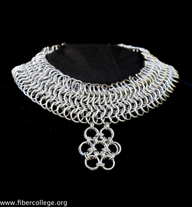 Another chainmail necklace of Steve's