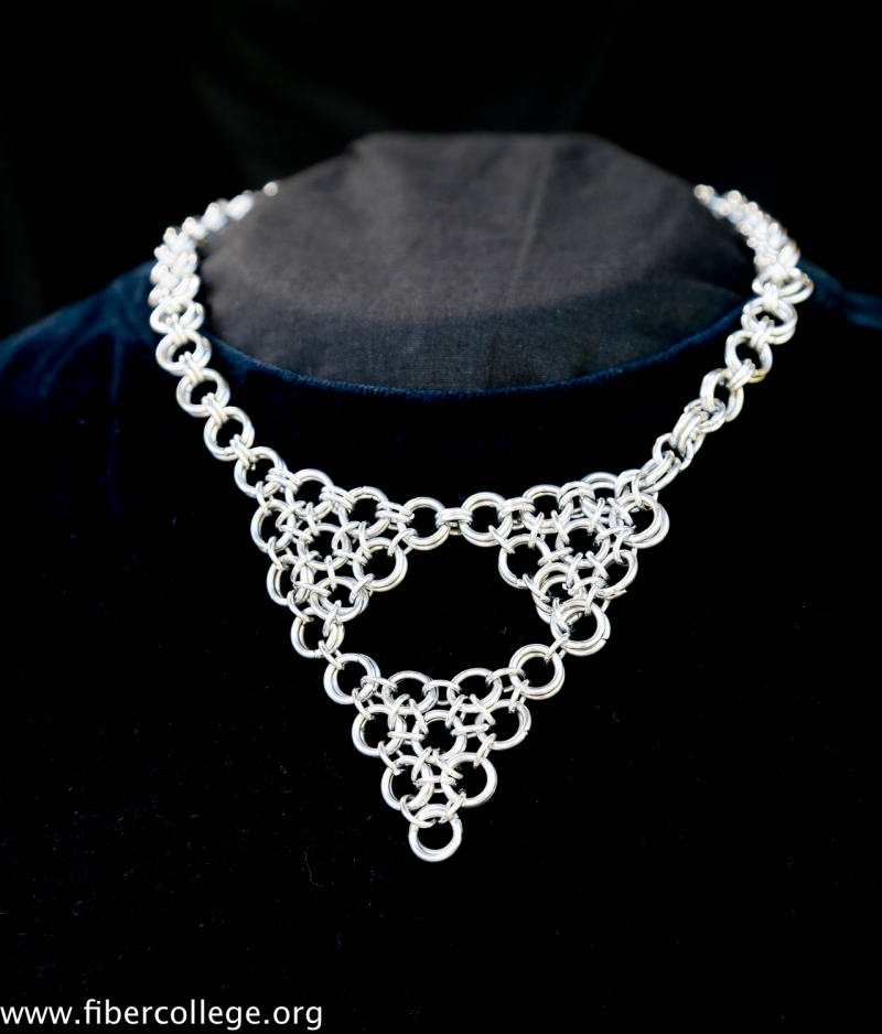 Another fabulous chain mail necklace