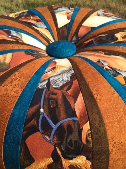 A horse-lover's tuffet