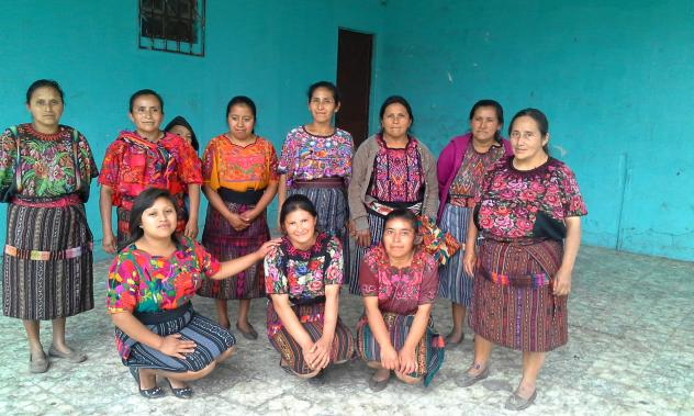 """""""Las Trabajadoras"""" or """"Hard-working Women"""" began their very first loan cycle funded by KIVA investors, including Fiber College 2014 donors."""