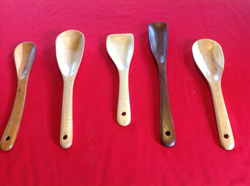 Remarkable wooden spoons!