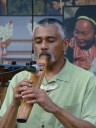 Hawk Henries, flute-maker, musician, storyteller