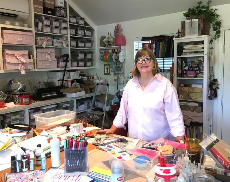 Deb Dutton - what a studio!